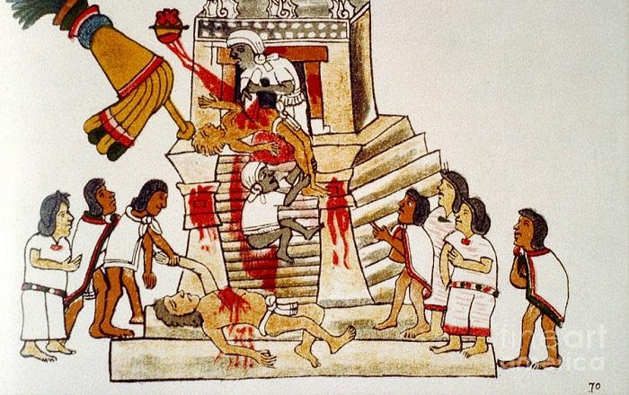 Οι ανθρωποθυσίες των Αζτέκων: Ισπανικές μαρτυρίες – Cognosco Team