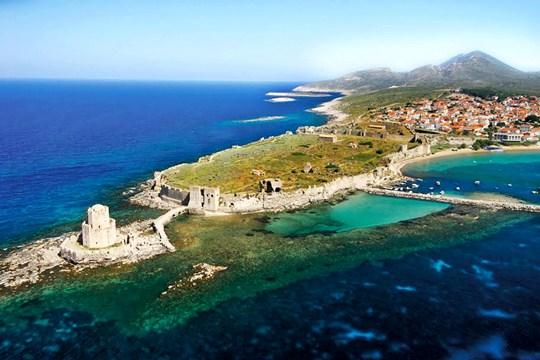 Το ΚΑΣΤΡΟ της Μεθώνης: Ένα ΚΟΣΜΗΜΑ της Πελοποννήσου...