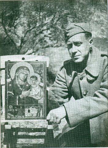 """""""Η Στρατηγίνα της ράτσας μου"""": Η Παναγία και ο Έλληνας Στρατιώτης του 1940..."""
