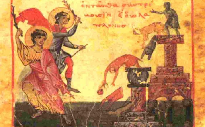 Ποιοι κατέστρεψαν τους Αρχαίους Ναούς; Μια αλήθεια που πολλοί ...